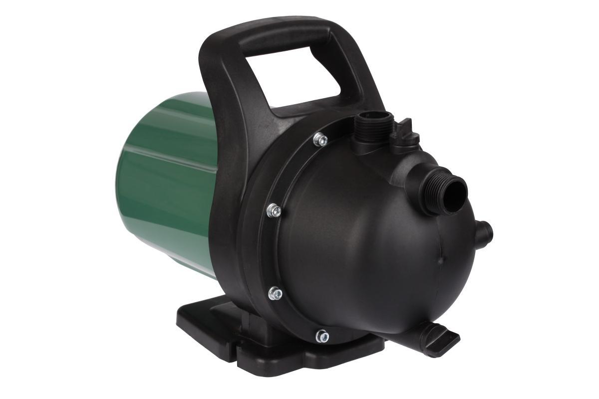 Насос садовый Hammer Flex NAC800136275Садовый насос, поможет разрешить целый ряд хозяйственных нужд. Используется для полива огородов и обслуживания бассейнов с чистой или слабозагрязненной водой Преимущества модели :+ Мощный двигатель, гарантирующий стабильную работу в различных условиях применения; + Высокий напор, обеспечивающий подачу воды на высоту до 42 метров;+ Мотор отличается низким уровнем шума; + Ударопрочный пластик корпуса; + Возможность зафиксировать насос с помощью опорной рамы; +Рукоятка для удобного перемещения.