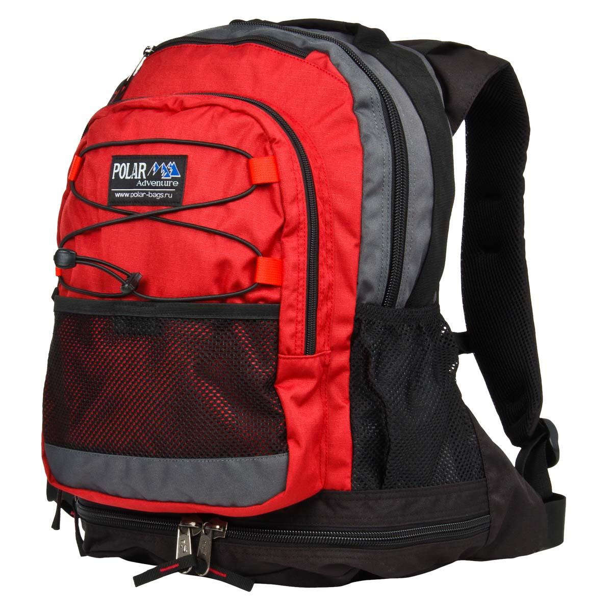 Рюкзак городской Polar, цвет: бордовый, 25 л. П178-14 рюкзак polar polar po001buawnf9