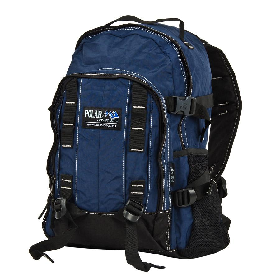 Рюкзак городской Polar, цвет: синий, 29 л. П876-04 рюкзак городской polar 21 л цвет синий п955 04