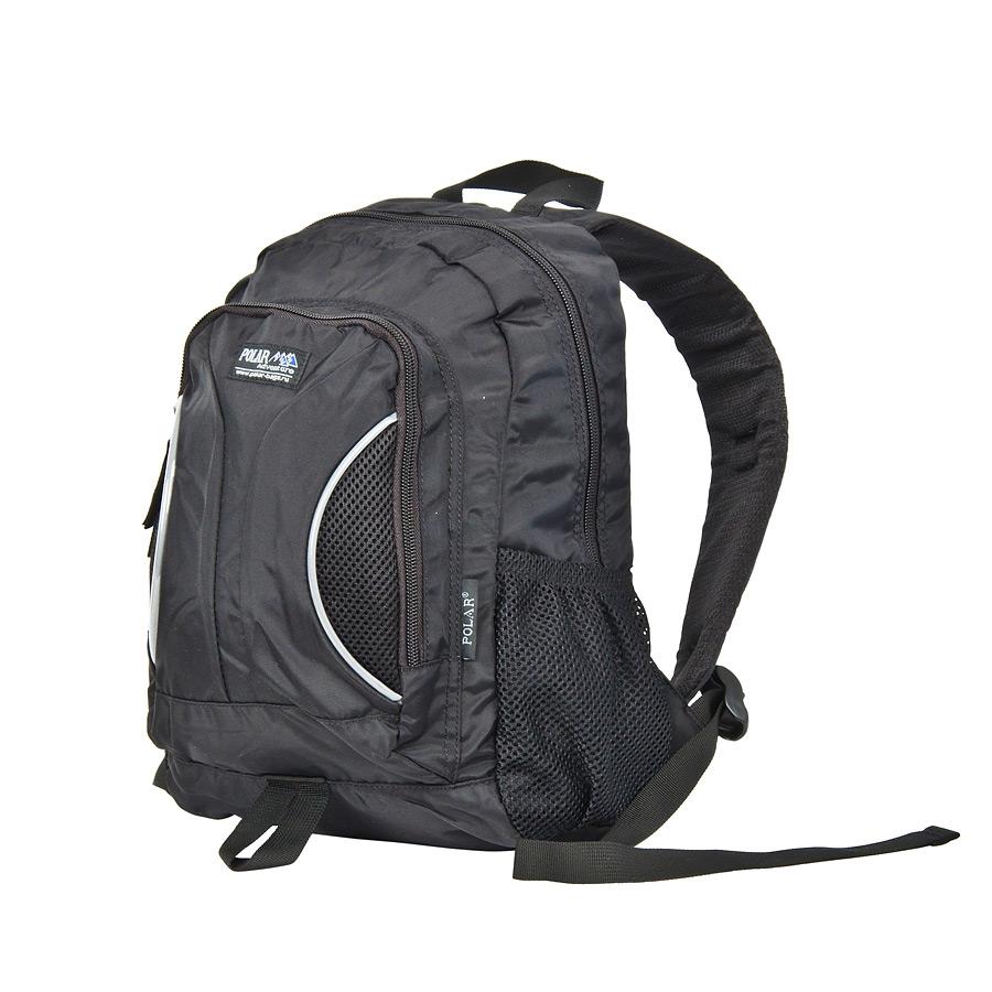 Рюкзак детский городской Polar, цвет: черный, 12 л. П1297-05