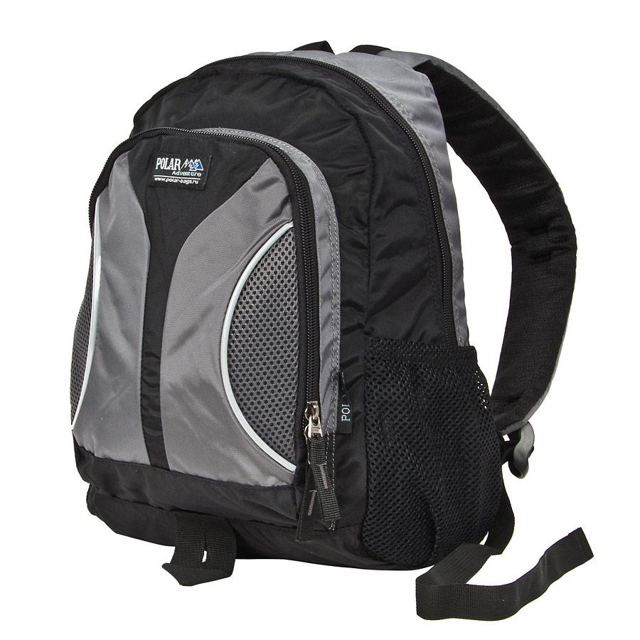 Рюкзак детский городской Polar, цвет: серый, 12 л. П1297-06П1297-06Polar- детский легкий городской рюкзак с модным дизайном. Он выполнен из полиэстера.Особенности:- Удобные для детей двухсторонние застежки. - Удобная мягкая спинка, мягкие плечевые лямки создают дополнительный комфорт при ношении. - Основное отделение с внутренним отделением на молниях. - Большие карманы для аксессуаров и персональных вещей. - Два боковых сетчатых кармана под бутылки с водой на резинке.