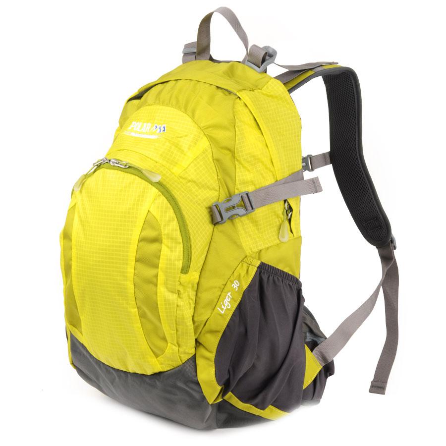 где купить Рюкзак городской Polar, 38 л, цвет: желтый. П1606-03 дешево