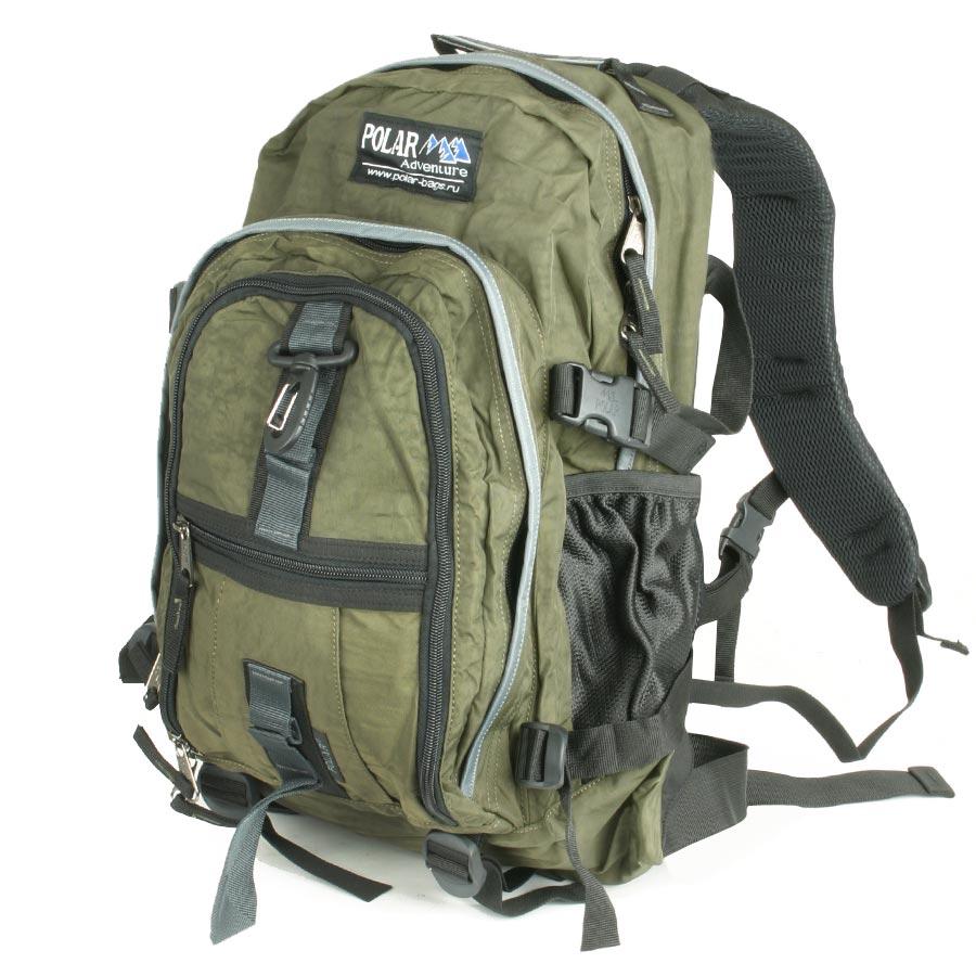 Рюкзак городской Polar, цвет: темно-зеленый, 27 л. П1955-08 рюкзак городской polar 27 л цвет темно зеленый п1955 08