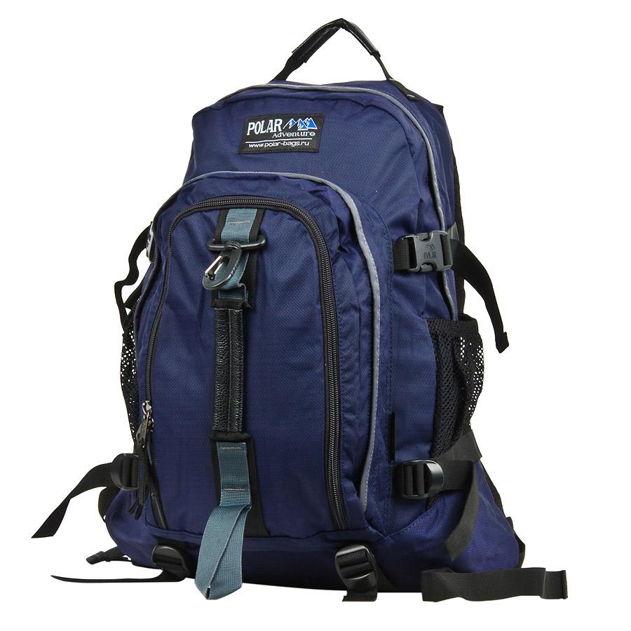Рюкзак городской Polar, цвет: синий, 27 л. П3955-04П3955-04Городской рюкзак Polar с модным дизайном. - Полностью вентилируемая и удобная мягкая спинка, мягкие плечевые лямки создают дополнительный комфорт при ношении. - Центральный отсек для персональных вещей и документов A4 на двухсторонних молниях для удобства. - Маленький карман для mp3, CD плеера. - Два боковых кармана под бутылки с водой на резинке.- Регулирующая грудная стяжка с удобным фиксатором.- Регулирующий поясной ремень, удерживает плотно рюкзак на спине, что очень удобно при езде на велосипеде или продолжительных походах.- Система циркуляции воздуха Air.- Материал Polyester PU 600D.
