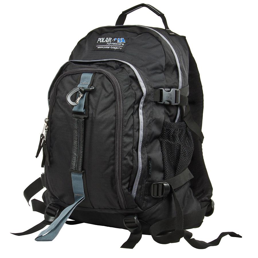 Рюкзак городской Polar, 27 л, цвет: черный. П3955-05 стилус polar pp001
