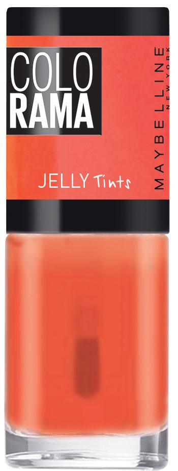 Maybelline New York Лак для ногтей Colorama Коллекция Jelly Tints, оттенок 457, Апельсиновый Мармелад, 7 млB2769800Тренды подиумов Нью-Йорка на твоих ногтях! Новая стильная упаковка, улучшенные оттенки, эксклюзивные коллекции, необычные текстуры и особое настроение!