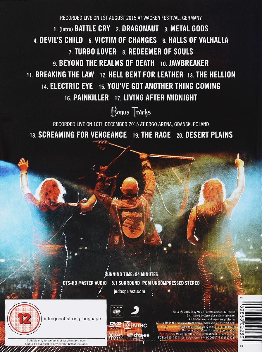 Judas Priest:  Battle Cry Sony Musik Entertainment