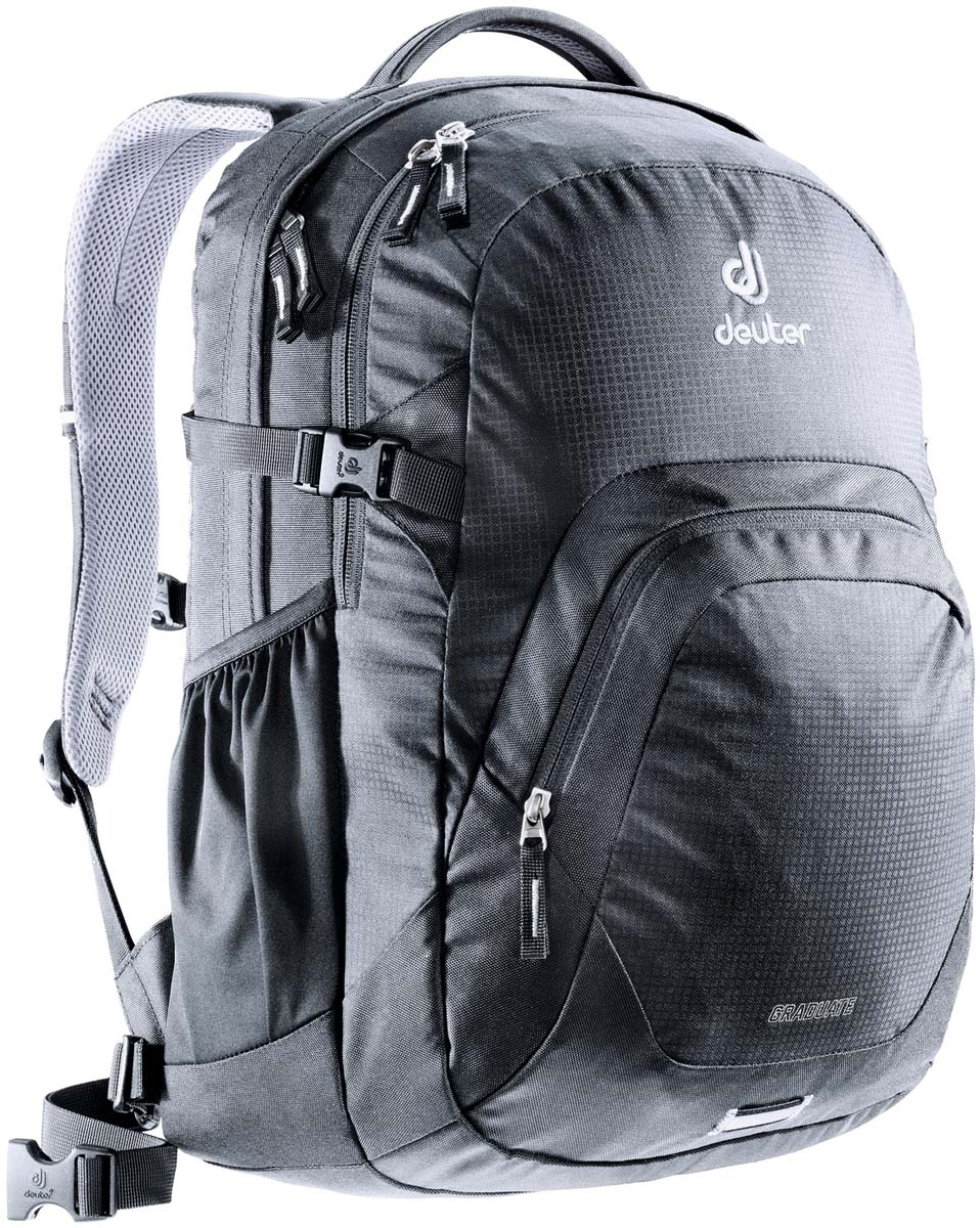 Рюкзак Deuter Daypacks Graduate, цвет: черный, 28 л рюкзак deuter daypacks giga bike 28l 2015 turquoise midnight