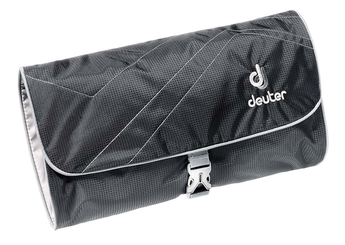 Косметичка Deuter Wash Bag II, цвет: черный, темно-серый