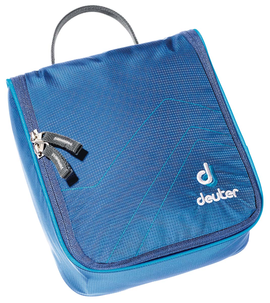 Косметичка Deuter Accessories Wash Center I, цвет: светло-голубой, бирюзовый, 22 см х 19 см х 8 см