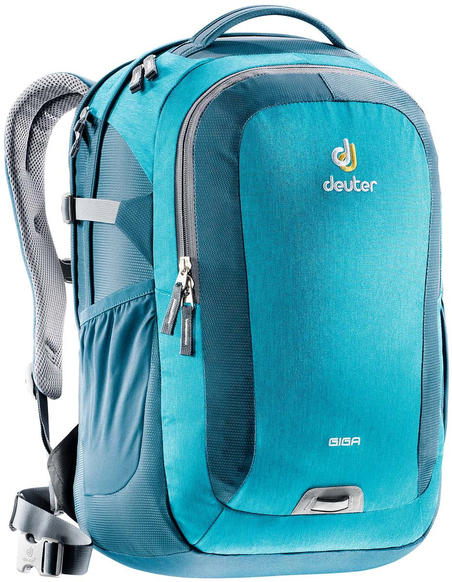 Рюкзак Deuter Daypacks Giga, цвет: бирюзовый, 28 л рюкзак deuter daypacks giga aubergine check б р uni