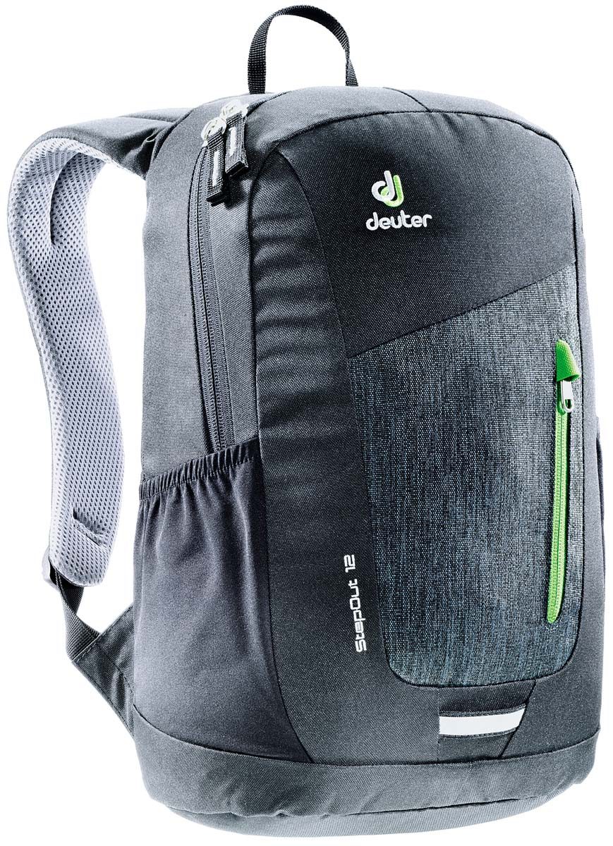 Рюкзак Deuter Daypacks StepOut 12, цвет: черный, серый, 12 л рюкзак deuter daypacks stepout 12 dresscode black