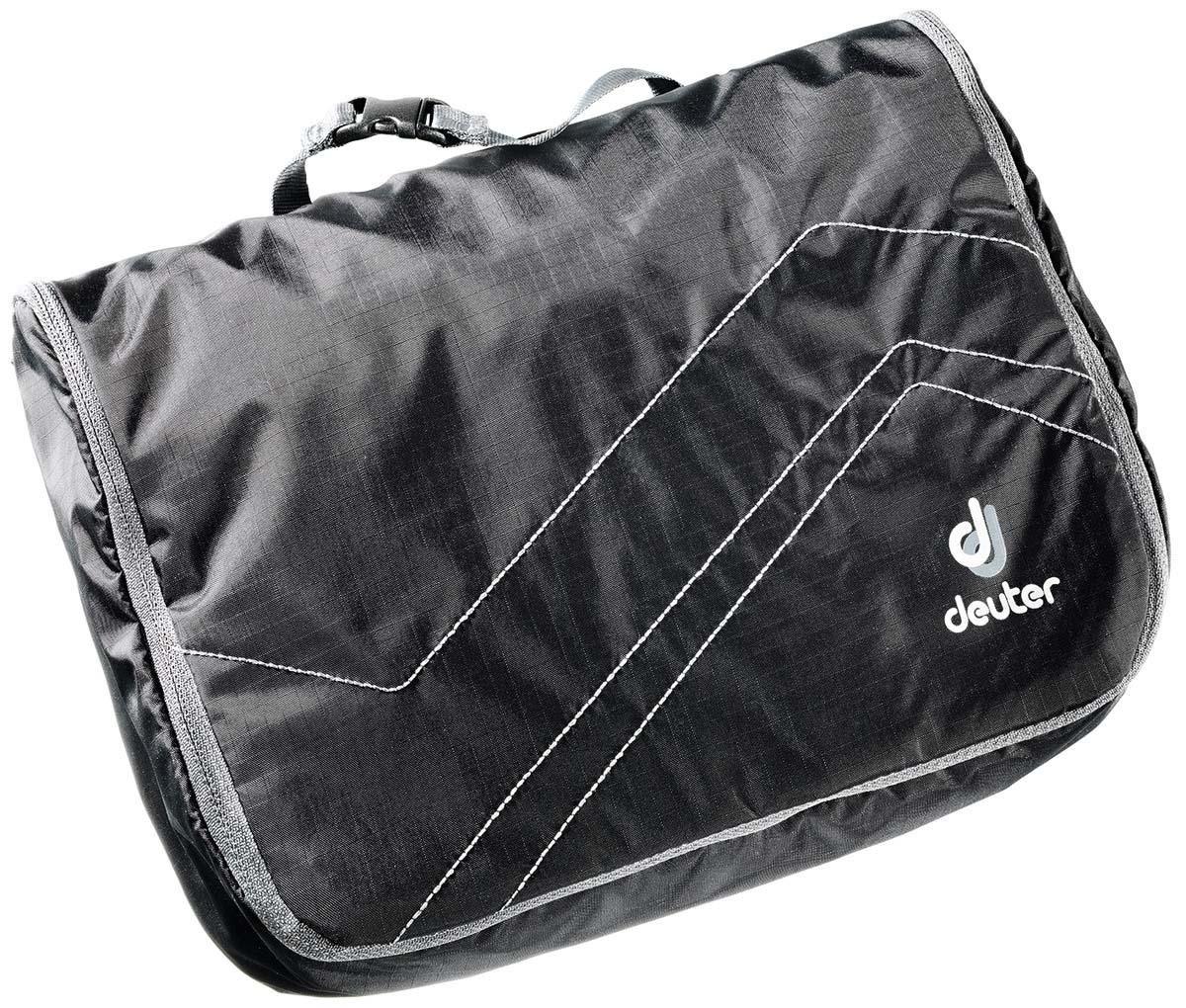 Косметичка Deuter Wash Center Lite II, цвет: черный, темно-серый, 18 см х 24 см х 8 см