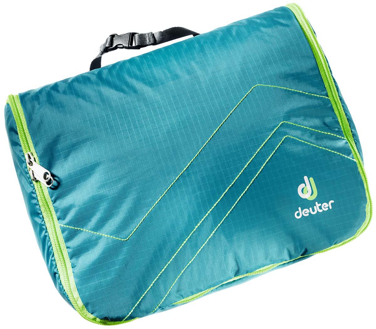 Косметичка Deuter Wash Center Lite II, цвет: бирюзовый, светло-зеленый, 18 см х 24 см х 8 см