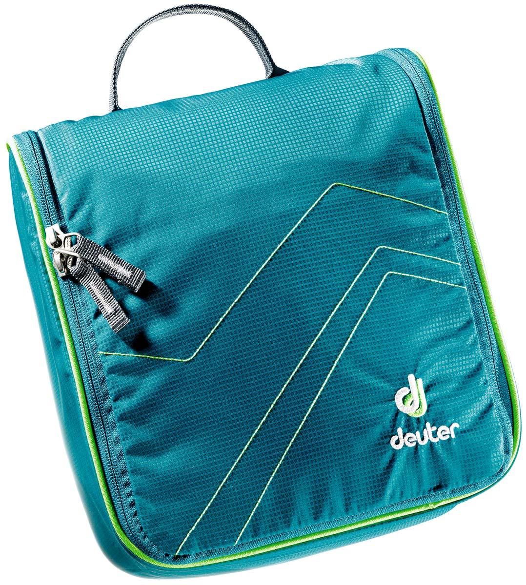 Косметичка Deuter Wash Center II, цвет: бирюзовый, светло-зеленый, 25 см х 24 см х 9 см