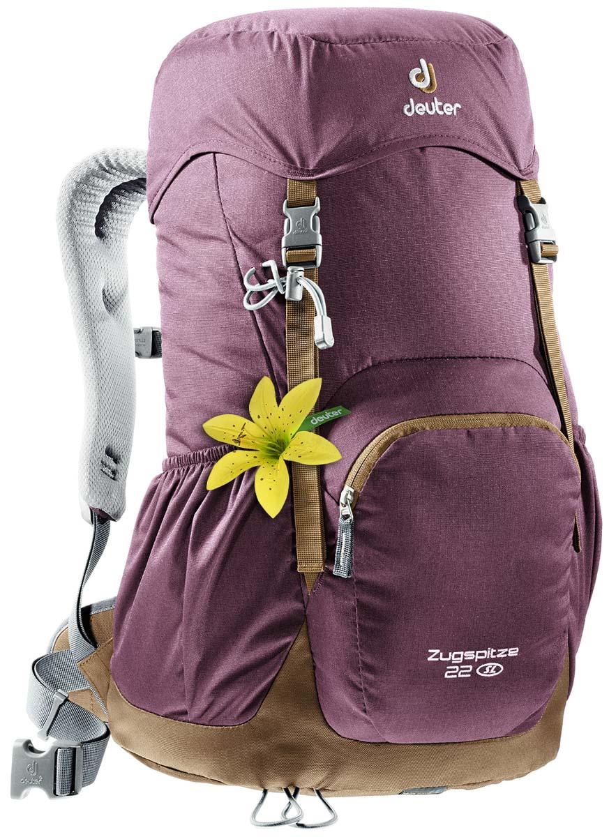 Рюкзак Deuter Zugspitze 22 SL, цвет: сливовый, 22 л рюкзак deuter giga цвет сливовый темно серый 28л