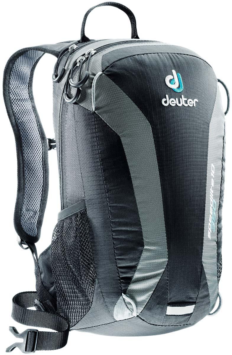 Рюкзак Deuter Speed lite 10, цвет: черный, темно-серый, 10 л deuter act lite 45 10 sl