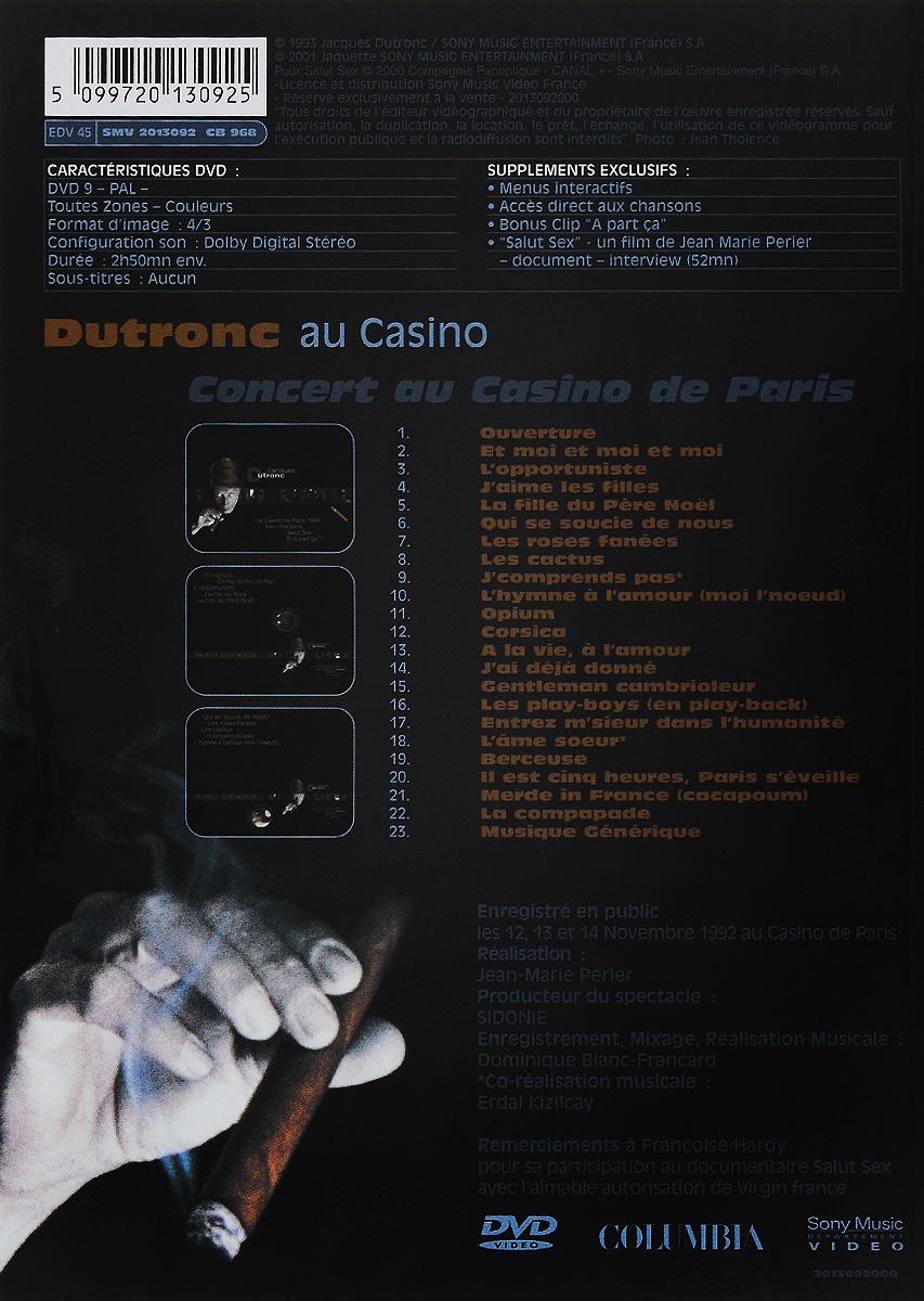 Dutronc Au Casino Sony Music Video