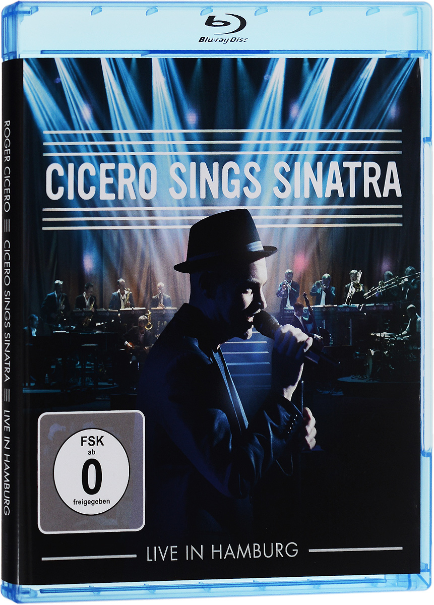 Cicero Sings Sinatra: Live In Hamburg (Blu-ray) francis rossi live from st luke s london blu ray