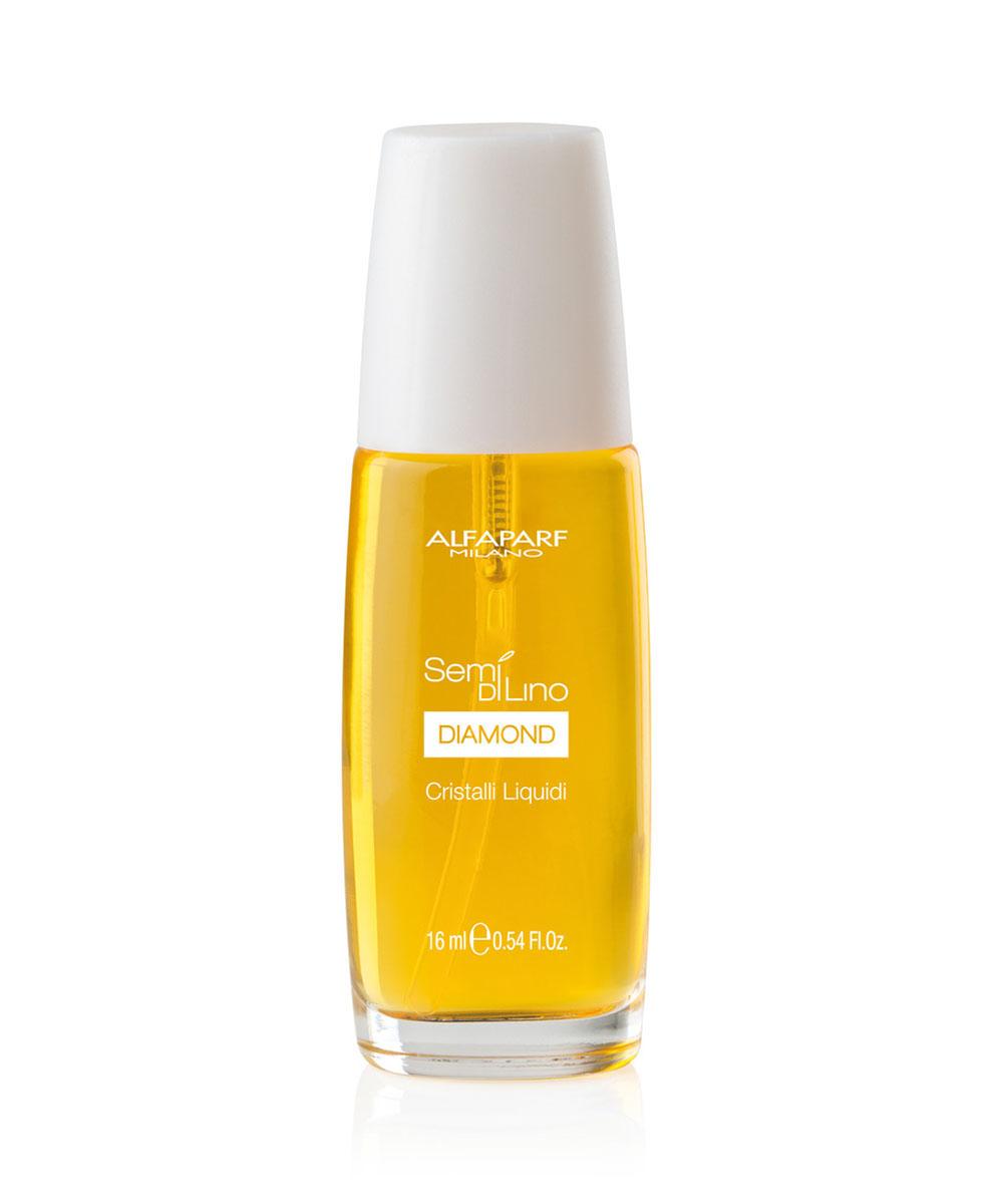 Alfaparf Масло для посеченных кончиков волос, придающее блеск Semi Di Lino Diamond Cristalli Liquidi 50 мл10002Alfaparf Semi DiLino Diamond Cristalli Liquidi Масло для посечённых кончиков волос, придающее блеск с лёгкостью избавит от такой распространённой проблемы, как секущихся кончики волос. Масло Alfaparf, специально обогащённое витамином E, делает волосы мягкими и послушными, благодаря чему процесс расчёсывания волос станет приятным и комфортным. Микрокристаллы алмаза придадут волосам красивый, здоровый и интенсивный блеск, а льняное масло надёжно защитит волосы от всех агрессивных воздействий окружающей среды. Масло Альфапарф Cristalli Liquidi для посечённых кончиков волос надолго сохраняет в волосе влагу и способствует возвращению волосам природной силы.