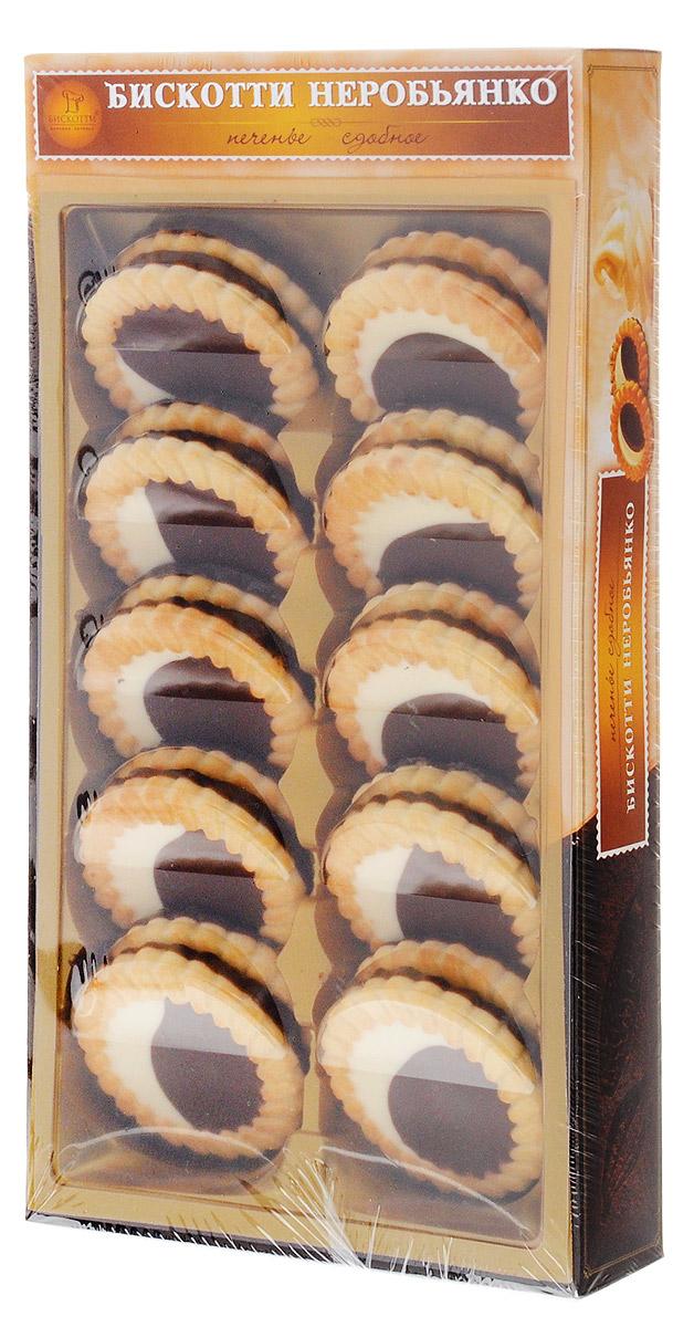 Бискотти Неробьянко печенье сдобное, 265 г бискотти фитнес печенье 80 г