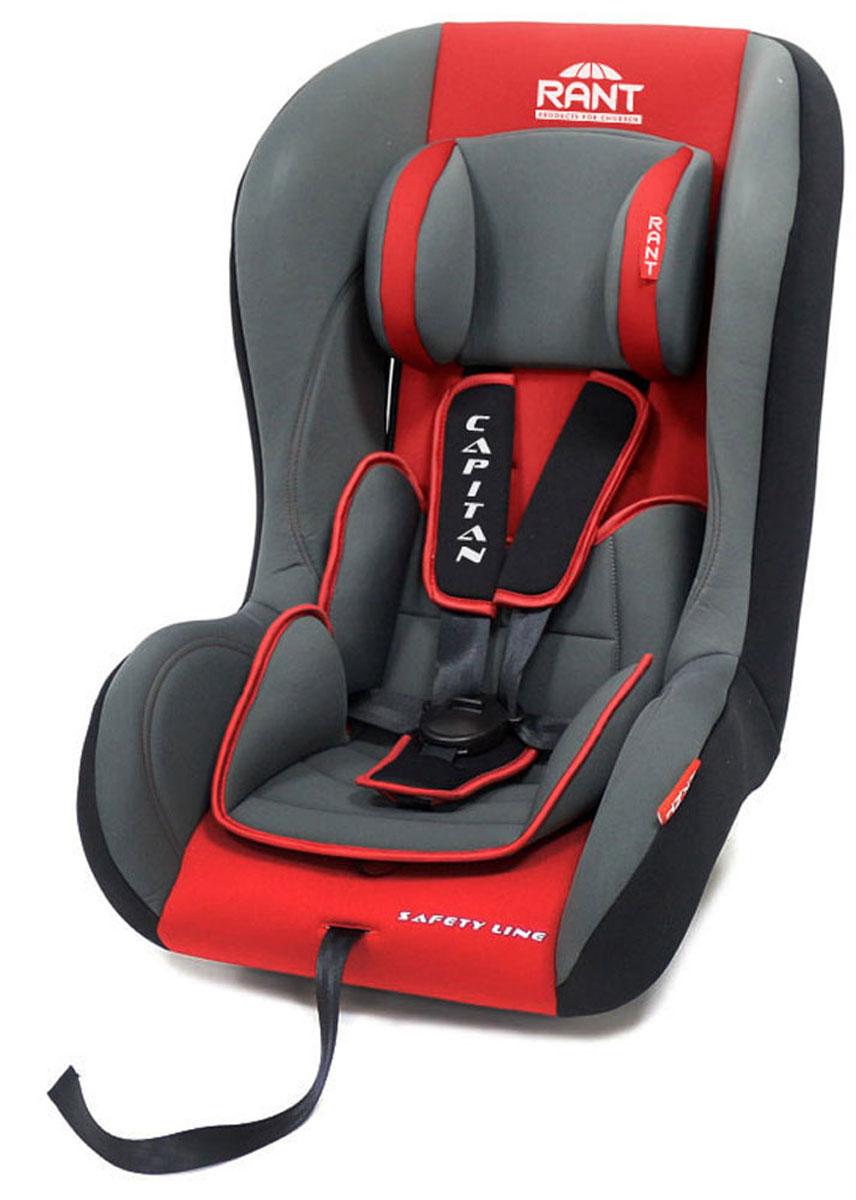 Rant Автокресло Capitan цвет красный до 25 кг4630008874400Детское автокресло Rant Capitan разработано для детей весом до 25 кг (приблизительно от рождения до 6-7 лет). Автокресло может устанавливаться как по ходу движения, так и против хода движения. Для новорожденного малыша автокресло фиксируется в автомобиле против хода движения (малыш лицом назад), пока малыш научится хорошо сидеть. С 7-8 месяцев автокресло устанавливается лицом вперед и эксплуатируется приблизительно до 5-6 лет (9-25 кг). Особенности: Удобное сиденье с мягким вкладышем делает кресло комфортным и безопасным для малышей. Усиленная боковая защита обеспечит безопасность ребенка от ударов при боковых столкновениях. Автокресло оснащено пятиточечными ремнями безопасности с мягкими плечевыми накладками (уменьшают нагрузку на плечи малыша). Накладки обеспечивают плотное прилегание и надежно удержат малыша в кресле в случае ударов. Ремни удобно регулировать под рост и комплекцию ребенка без особых усилий. Съемный чехол автокресла Capitan изготовлен из огнестойкой, гипоаллергенной эластичной ткани, легко чистится и стирается вручную или в деликатном режиме в стиральной машине при температуре 30°. Крепление и установка: Установка автокресла возможна в двух положениях: против хода движения (если малышу от 0 до 7-8 месяцев), ребенок фиксируется внутренними ремнями безопасности. По ходу движения (если малышу от 7-8 месяцев и до 5-6 лет), ребенок фиксируется автомобильными ремнями безопасности. Правильность прохождения автомобильных ремней безопасности обеспечивается специальными фиксаторами, предусмотренными по бокам автокресла. Безопасность: Корпус из ударопрочного пластика гарантируют защиту при боковых и фронтальных столкновениях. Пятиточечные ремни безопасности с мягкими плечевыми накладками надежно зафиксируют малыша в автокресле. Прочный и практичный замок фиксации ремней безопасности надежно удержит малыша при резких торможениях и толчках. Автокресло Capitan сертифицировано и соответствует требованиям 