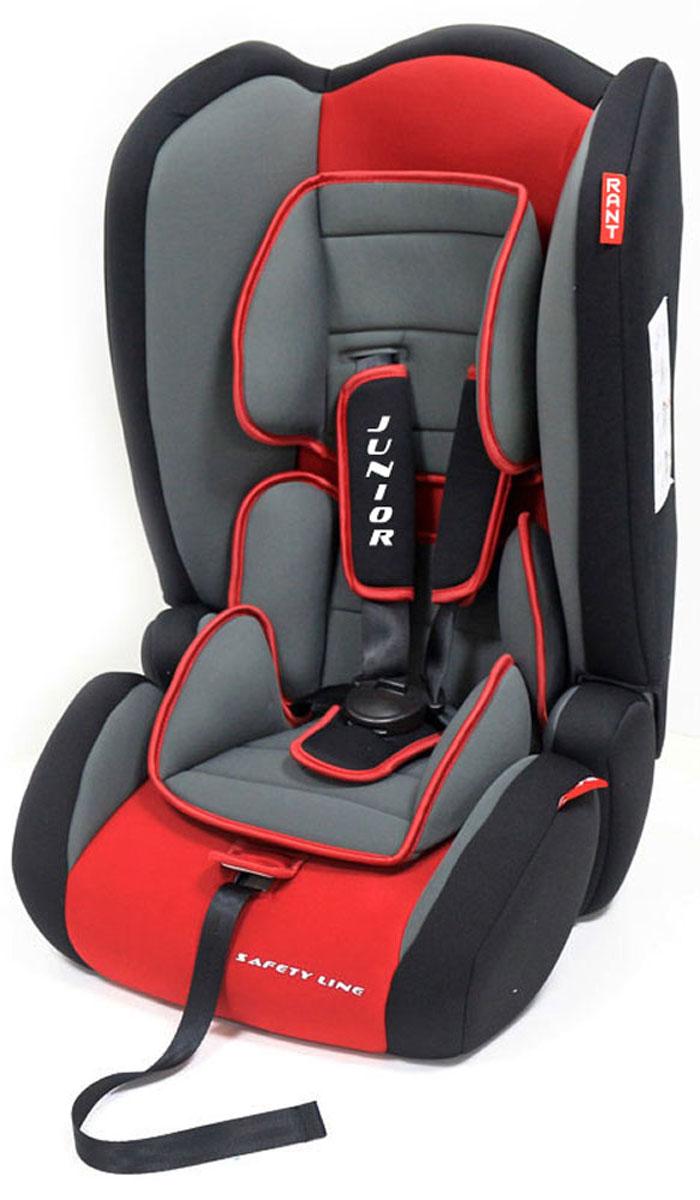 Rant Автокресло Junior цвет красный от 9 до 36 кг rant автокресло premium isofix цвет черный от 9 до 25 кг