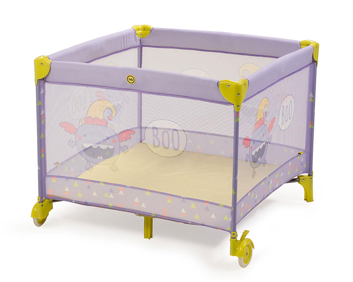 Манеж Happy Baby Alex, цвет: фиолетовый