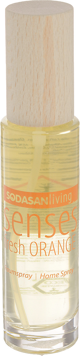 Ароматизатор воздуха Sodasan  Свежий апельсин , спрей, 50 мл - Бытовая химия