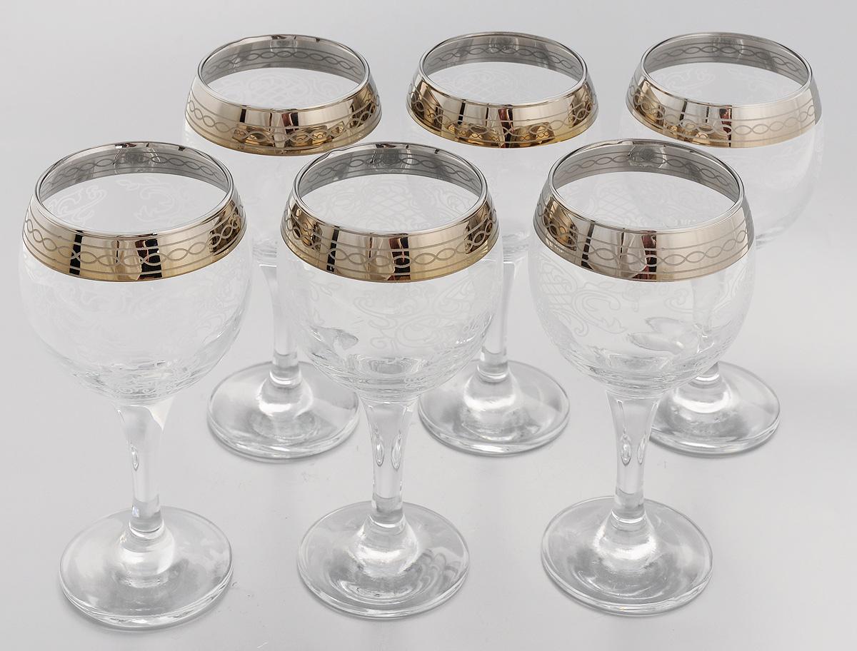 Набор бокалов для вина Мусатов Люция, 260 мл, 6 шт набор бокалов для бренди коралл 40600 q8105 400 анжела