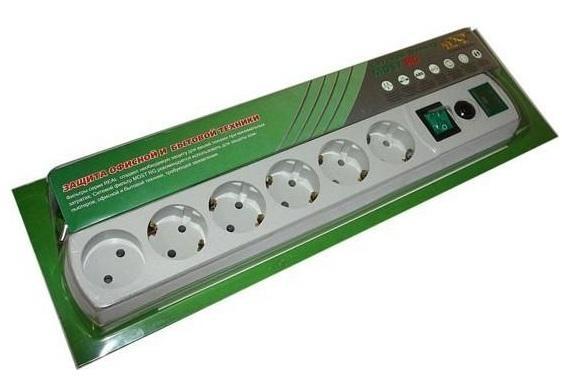 Сетевой фильтр Most RG-U (6 розеток), WhiteМОST RG-U 3МСетевой фильтр MOST LRG-U 3 м создан для защиты электронной техники от короткого замыкания, перенапряжения и импульсных помех. Он предназначен для подключения широкого спектра бытовой и электронной техники, включая чайники и электронагреватели. Контактные шины выполнены из качественного металла, что обеспечивает плотный контакт вилок в розетке.