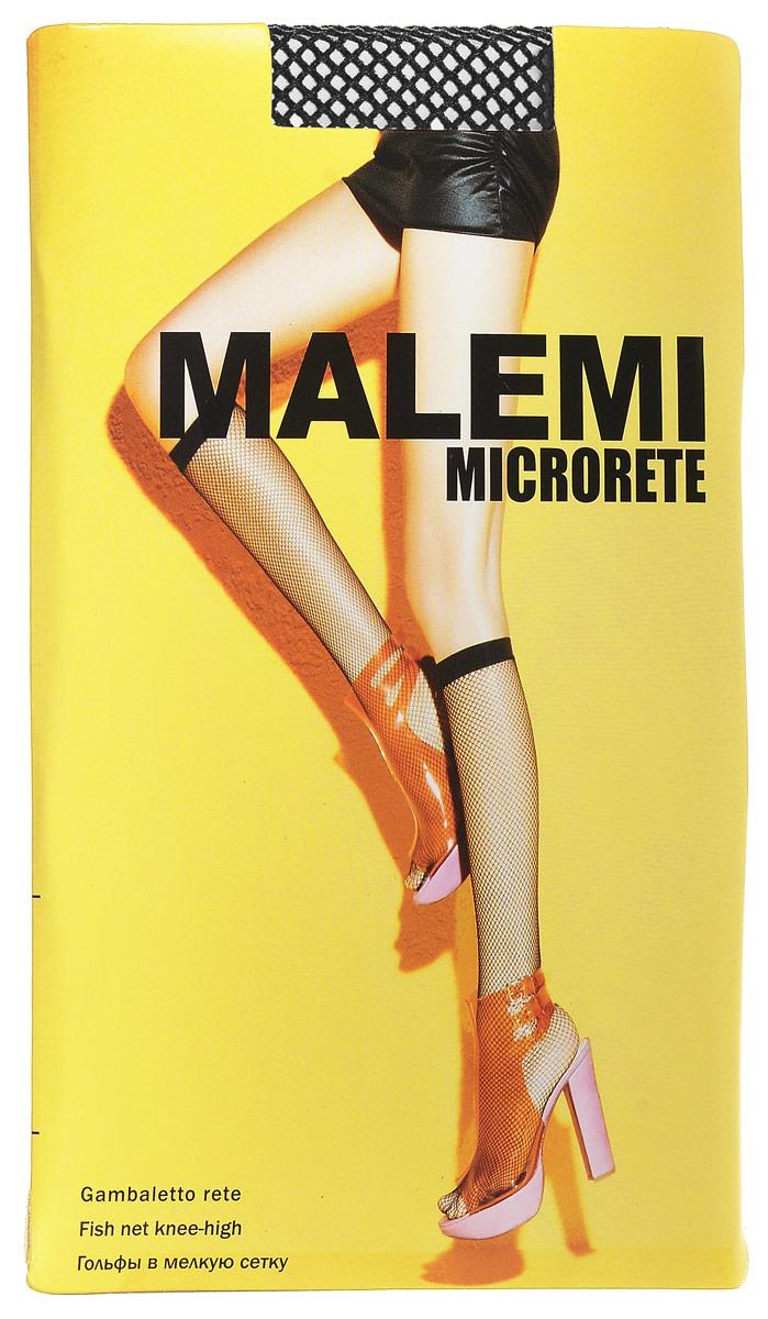 Гольфы женские Malemi Microrete, цвет: Nero (черный). 9068. Размер универсальный гольфы женские malemi soft 40 цвет nero черный 9067 размер универсальный