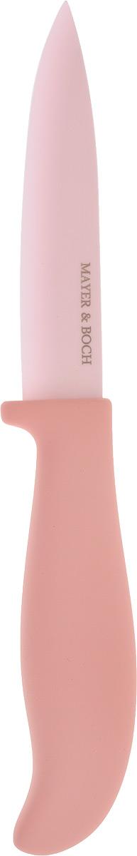 Нож универсальный Mayer & Boch, керамический, цвет: розовый. 22644 универсальный обойный нож truper nsm 6 16949