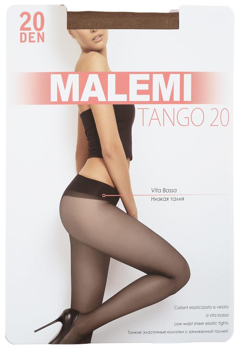 Колготки женские Malemi Tango 20, цвет: Daino (загар). 9053. Размер 2 (42/44)9053Стильные классические колготки Malemi Tango 20, изготовленные из эластичного полиамида, идеально дополнят ваш образ и превосходно подойдут к любым платьям и юбкам.Тонкие шелковистые колготки с формованными ножками легко тянутся, что делает их комфортными в носке. Гладкие и мягкие на ощупь, они имеют комфортный пояс, гигиеническую ластовицу и укрепленный прозрачный мысок. Идеальное облегание и комфорт гарантированы при каждом движении.Плотность: 20 den.