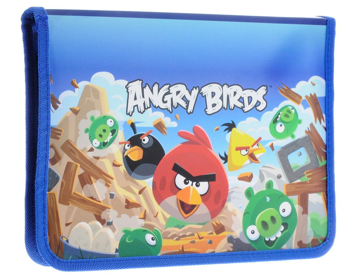 Centrum Папка для тетрадей Angry Birds Формат А5+84408Папка Centrum Аngry Birds - это удобный и функциональный инструмент, который идеально подойдет для хранения различных бумаг формата А5+, а также школьных тетрадей и письменных принадлежностей. Папка оформлена красочными изображениями героев мультфильма Аngry Birds.Папка изготовлена из прочного пластика и надежно закрывается на круговую застежку-молнию. Для удобства переноски папка оснащена текстильной петлей.Папка практична в использовании и надежно сохранит ваши бумаги и сбережет их от повреждений, пыли и влаги.