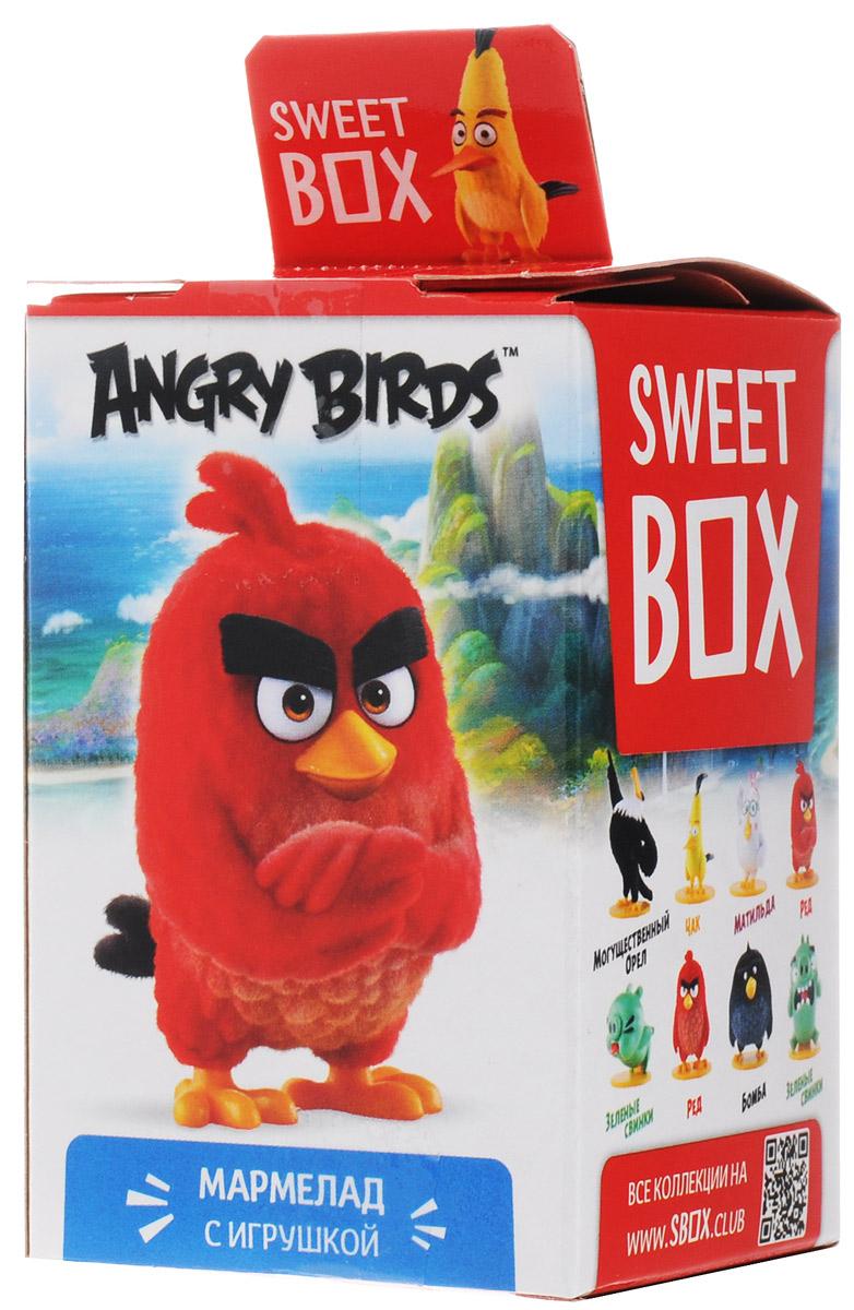 Sweet Box Angry Birds мармелад жевательный с игрушкой, 10 г6942971507581Sweet Box Angry Birds - коллекционная игрушка со сладким сюрпризом.Герои знаменитого противостояния, персонажи популярной компьютерной игры. Узнай все тайны птичек и свинок! Собери всю коллекцию!
