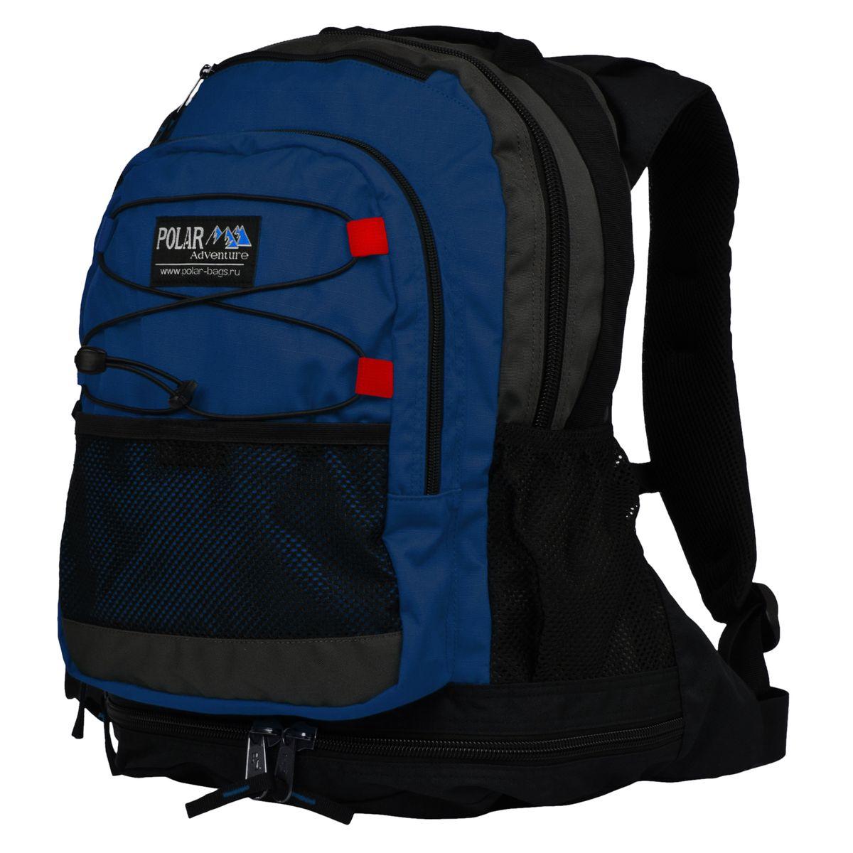 Рюкзак городской Polar, 25 л, цвет: синий. П178-04 рюкзак городской polar цвет синий 16 л п7074 04 page 3