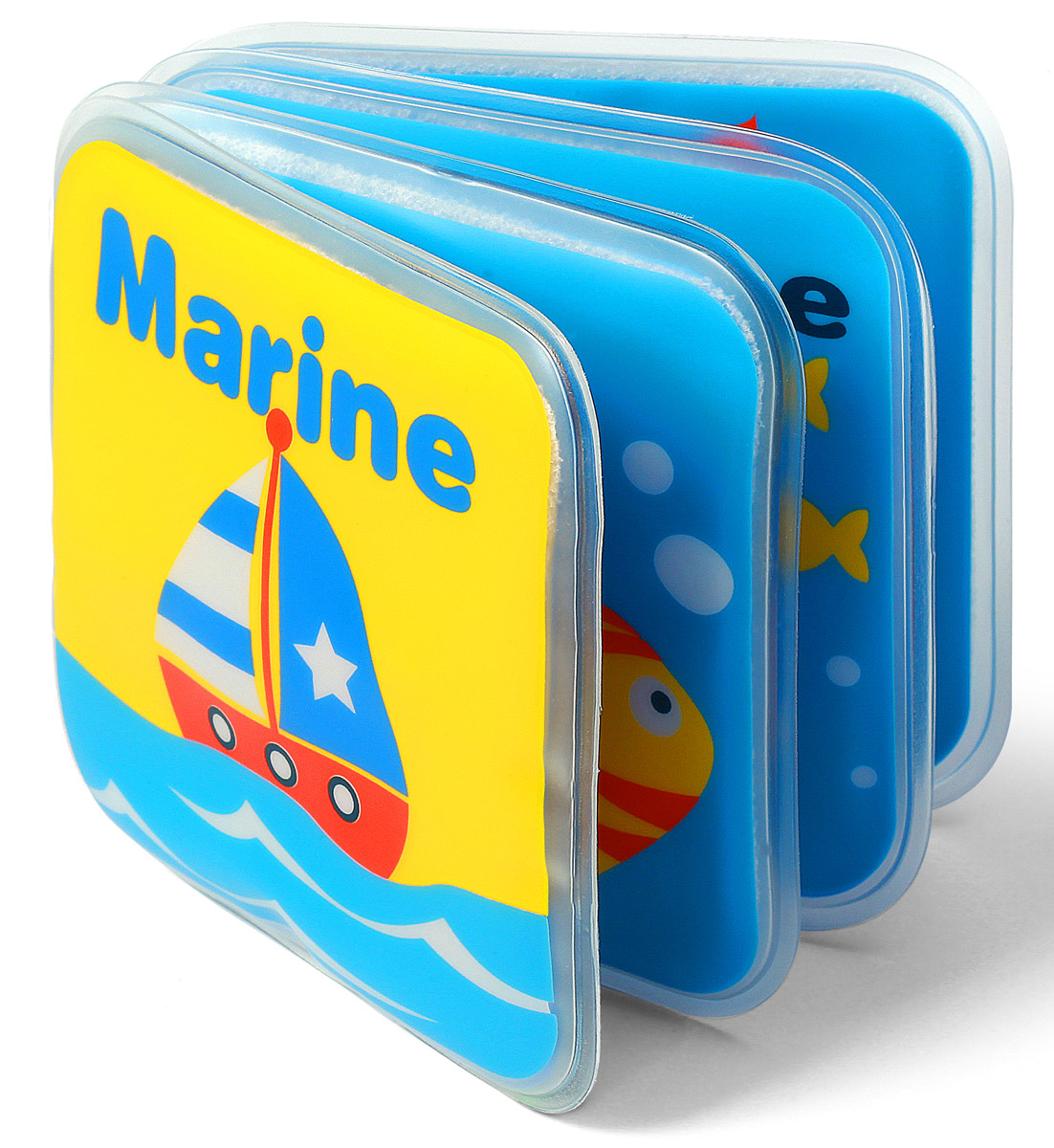 BabyOno Книжка-игрушка Кораблик babyono книжка игрушка камера