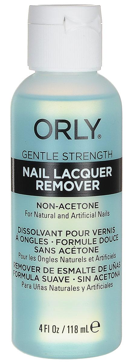 Orly Жидкость для снятия лака Nail Lacquer Remover, 118 мл23207Жидкость ORLY Nail Lacquer Remover поможет вам удалить лак с поверхности ногтей. Она обладает мягкой формулой, в которой нет ацетона. Главным активным веществом, растворяющим лак, является метилэтилкетон. Именно благодаря этому действие препарата отличается особой деликатностью.Как ухаживать за ногтями: советы эксперта. Статья OZON Гид