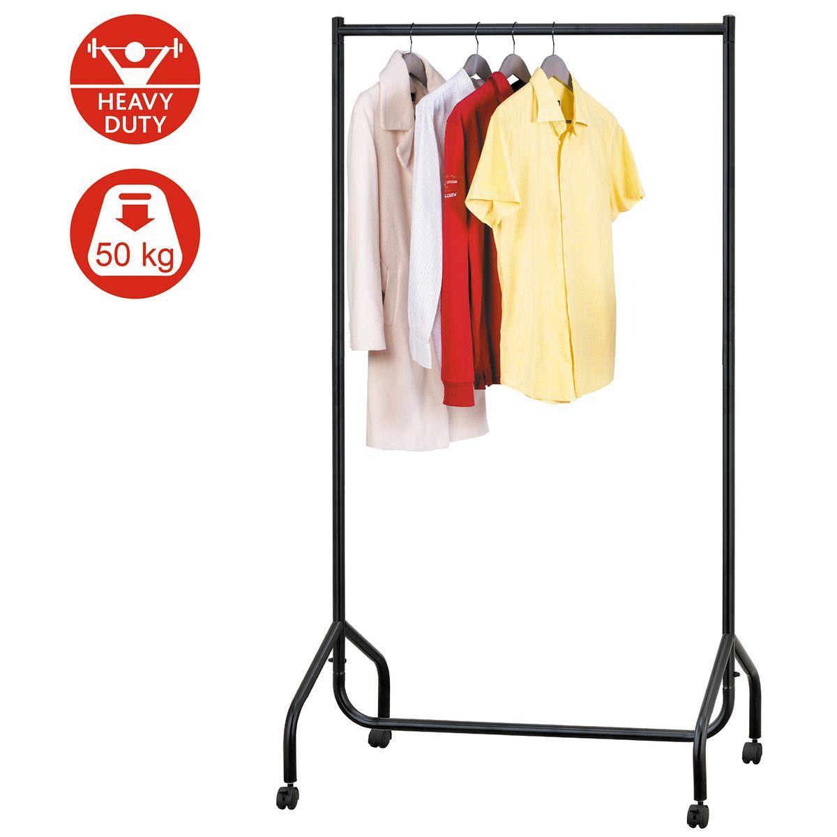 Сверхмощная стойка для одежды Tatkraft Basis вешалка для одежды tatkraft karta напольная цвет белый черный высота 173 см