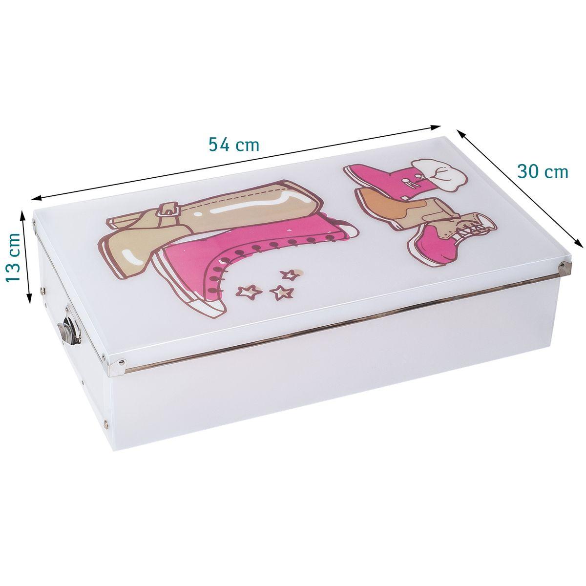 Набор коробок для хранения сапог Tatkraft Thorvald, 3 шт16125Tatkraft Thorvald - это набор, который состоит из 3 пластиковых коробок с металлическими ручками для хранения сапог. Полупрозрачный пластик позволяет легко найти нужную пару, удобная крышка с металлическим краем и усиленными углами. Пластик долговечный, износостойкий, не боящийся влаги и грязи материал, который легко мыть.Можно хранить в сложенном виде, если коробка не используется.