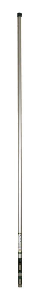 Ручка телескопическая Raco, 2,1-3,6 м4218-53386AТелескопическая ручка Raco используется для работ с высокими растениями или для работ в труднодоступных местах. Механизм фиксации очень простой и надежный. Рукоятка изготовлена из специального алюминиевого сплава высокого качества, который отличается очень легким весом, благодаря этому ручка устойчива к ударам и коррозии, а так же работа с ней становится проще. Ребристый рельеф рукоятки, а так же специальный упор для пальца, обеспечивает максимально комфортный обхват, а также исключает шанс соскальзывания руки во время выполнения работ - это делает работу максимально комфортной и безопасной для оператора.