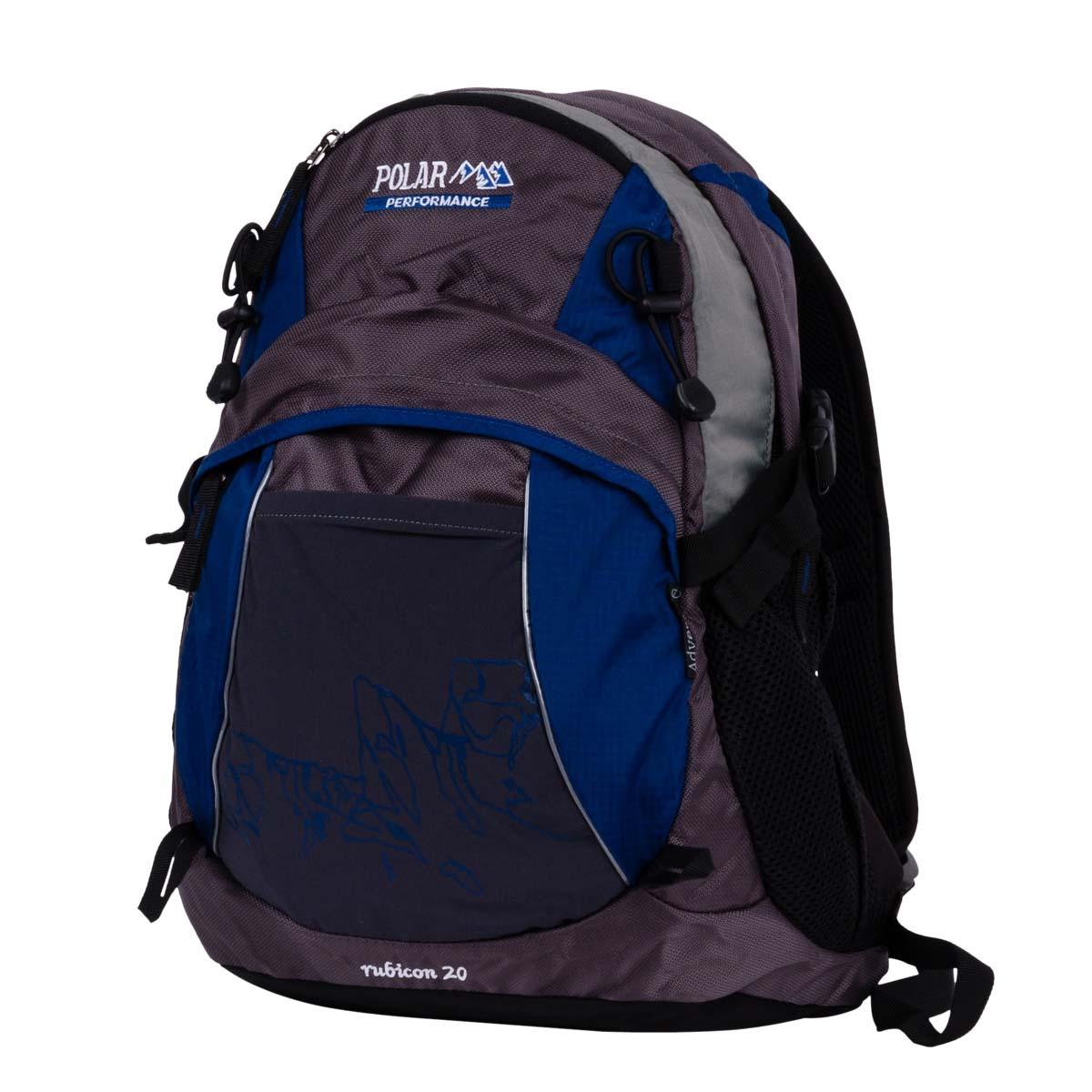 Рюкзак городской Polar, 21,5 л, цвет: синий. П1563-04 рюкзак городской polar цвет синий 16 л п7074 04 page 3