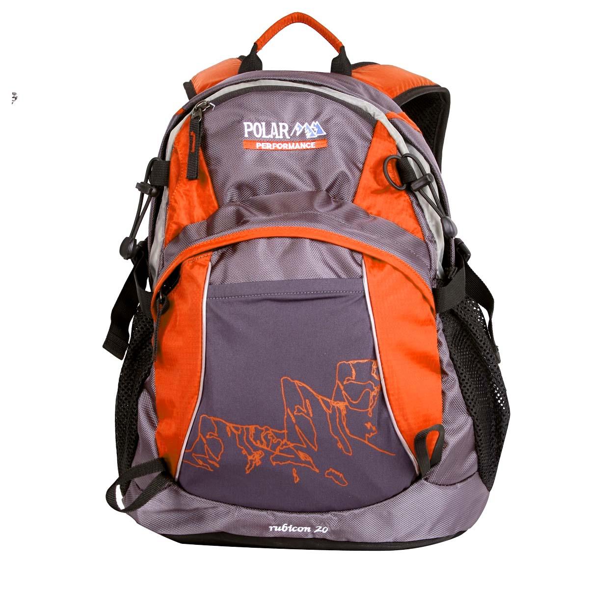 Рюкзак городской Polar, цвет: оранжевый, 21,5 л. П1563-02 рюкзак polar polar po001burvn31
