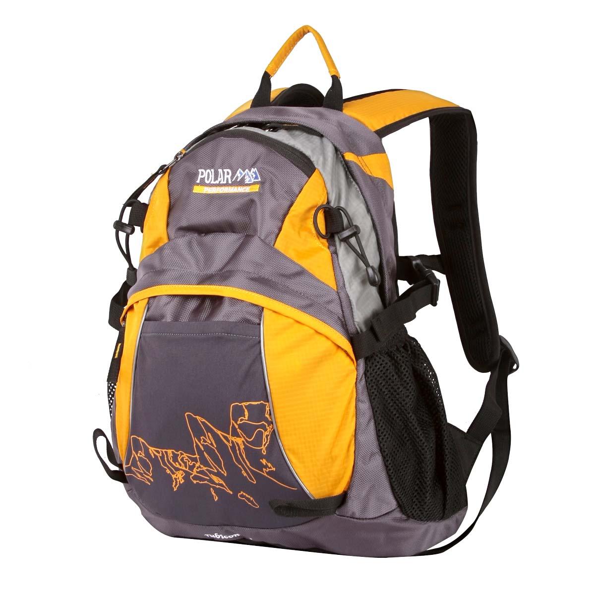 Рюкзак городской Polar, 21,5 л, цвет: желтый. П1563-03 рюкзак polar polar po001buawnf9