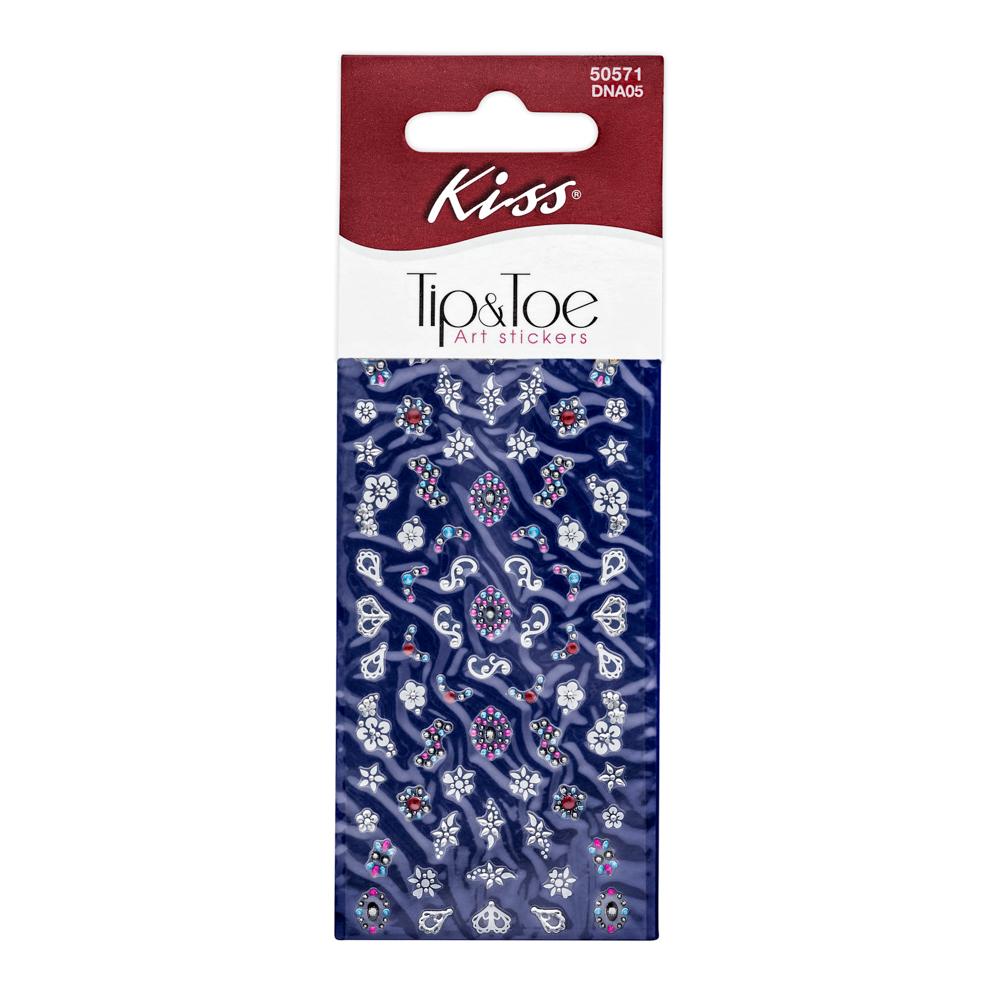 Kiss Набор стикеров для ногтей Nail Art Stickers Melon DNA0514-1650Стикеры для дизайна ногтей Kiss всего за несколько минут преобразят ваш маникюр. Добавят изящный акцент обычному цветному покрытию, а также будут оригинальным дополнение к классическому французскому маникюру. Стикеры подходят для натуральных и искусственных ногтей.