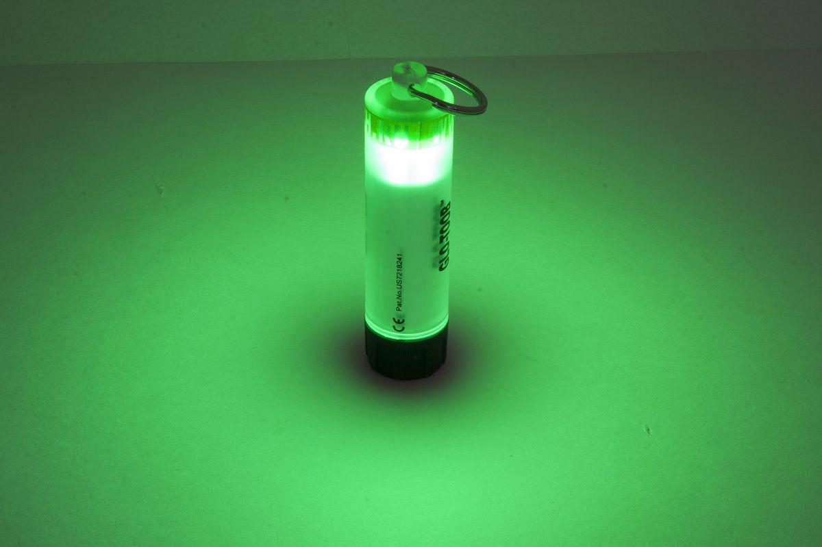 Фонарь универсальный Яркий Луч GLO-TOOB, цвет: зеленый фонарь налобный яркий луч lh 030 черный