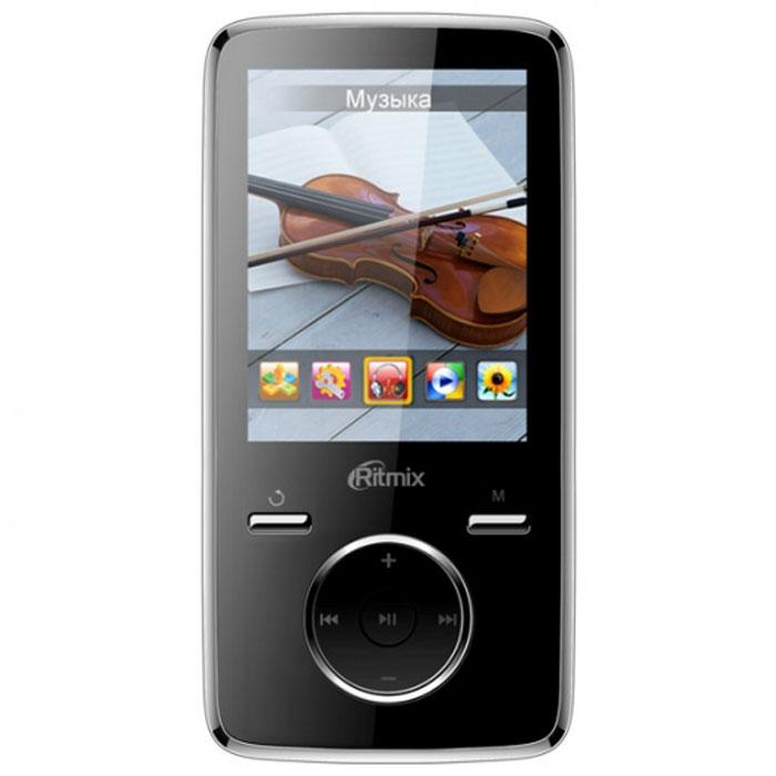 Ritmix RF-7650 16GB, Black MP3-плеер15116852Ritmix RF-7650 – многофункциональный плеер, который в своем компактном корпусе совмещает множество полезных функций: это воспроизведение аудио и видеофайлов, отображение текстовых и графических документов, фото- и видеосъёмка, а также работа в режиме веб-камеры. Встроенная фотокамера и видеокамераФотографирование: 2048 x 1536 пикселейВидеозапись/видеосъемка: 640 x 480 пикселейРабота в режиме веб камеры при подключении к ПКПоддержка карт памяти до 16 Гб, макс. class 6Радио: FM (87 - 108 МГц), память на 20 радиостанций