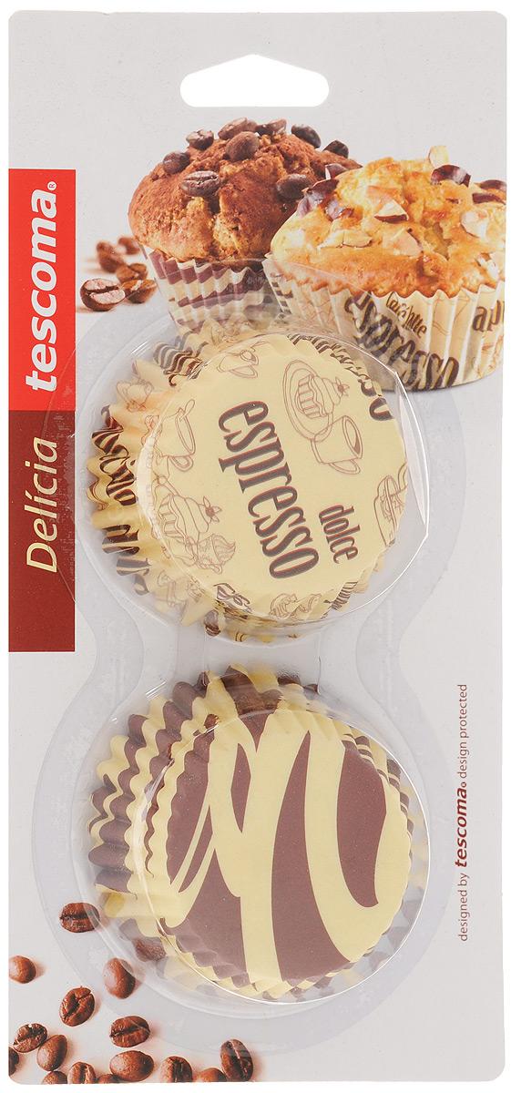 Набор форм для выпечки Tescoma Delicia, диаметр 6 см, 60 шт. 630604 трафареты для украшения выпечки tescoma delicia диаметр 21 см 6 шт