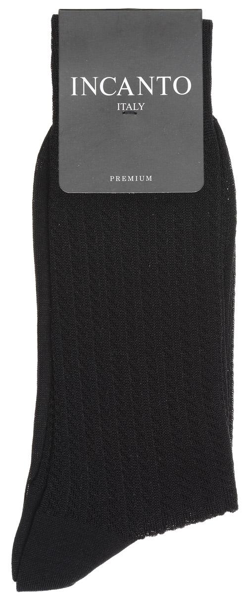 Купить Носки мужские Incanto, цвет: Nero (черный). BU733021. Размер 2 (39/41)